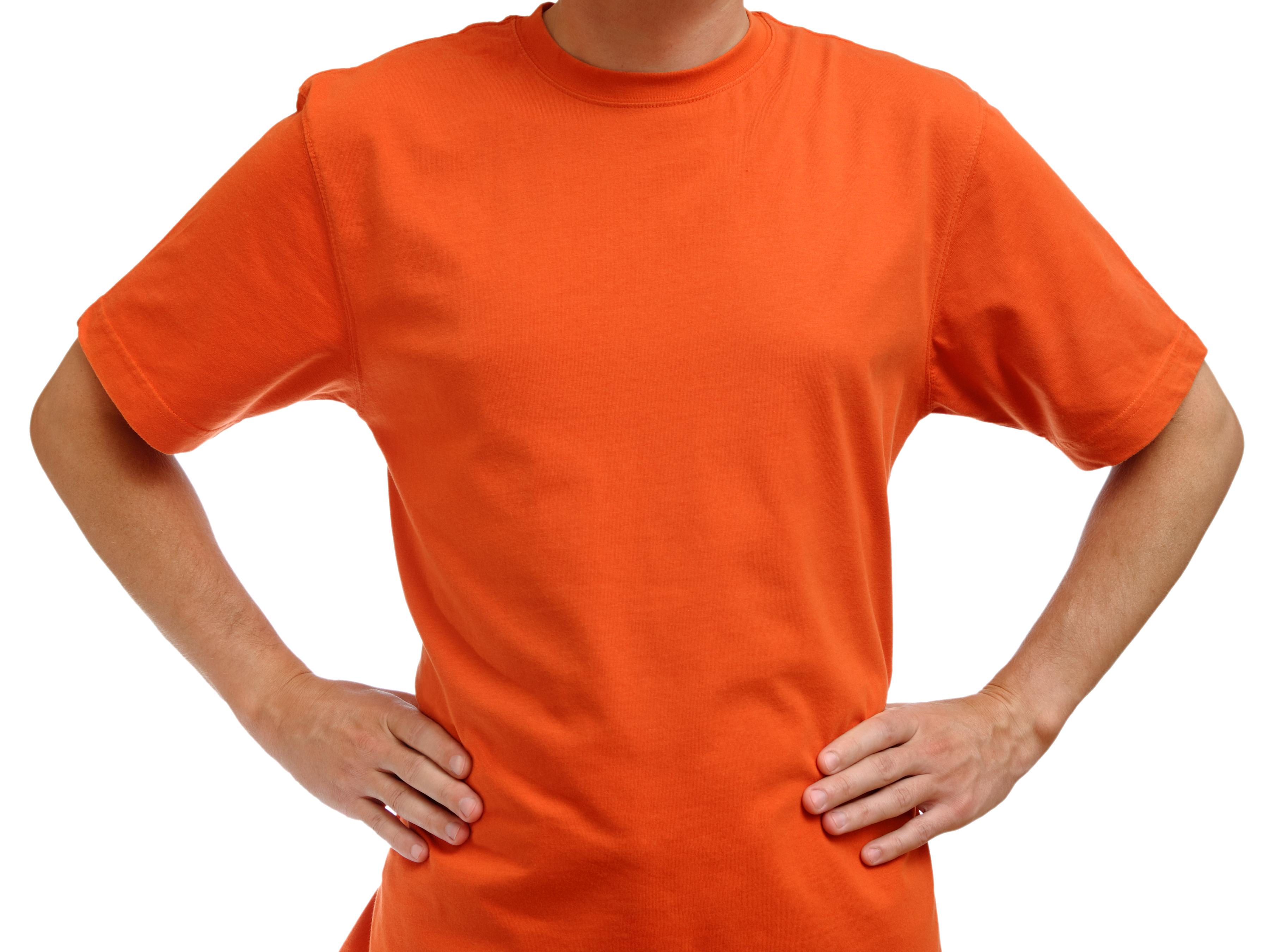 オレンジTshirt