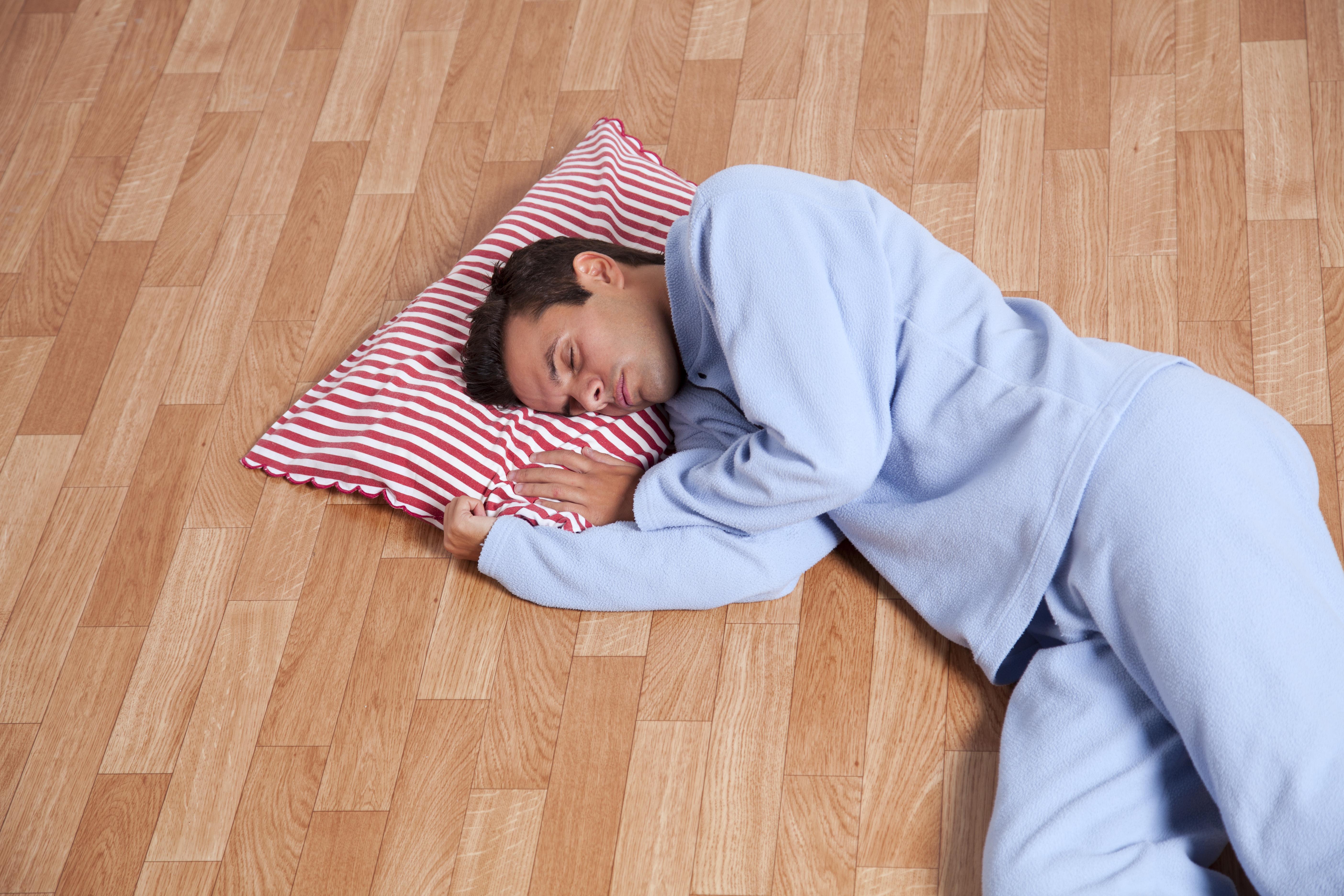青いパジャマ