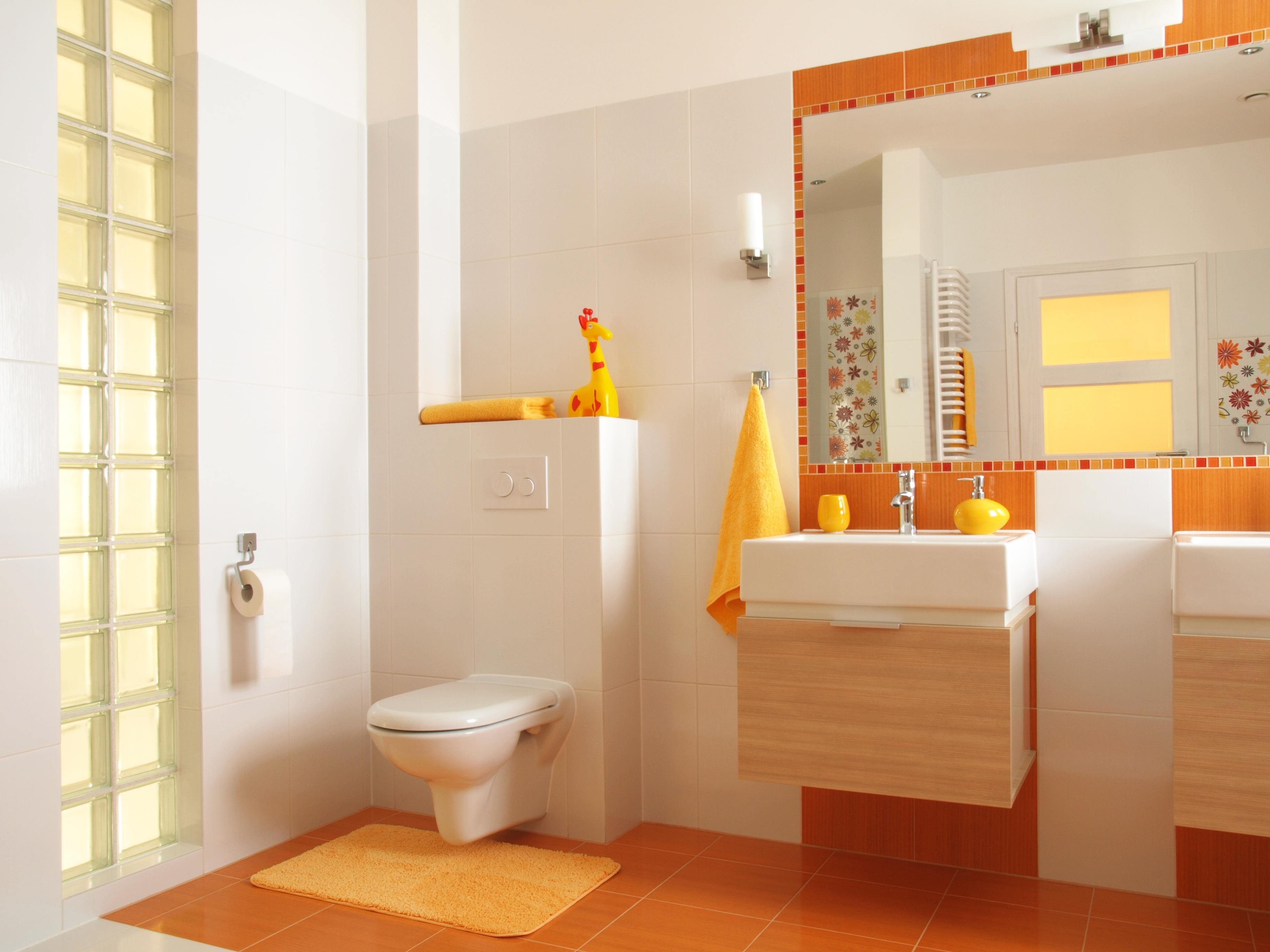 黄色いトイレ