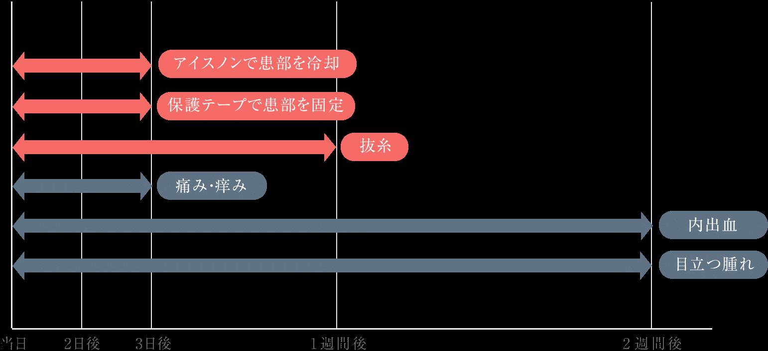 ハムラ法ダウンタイム